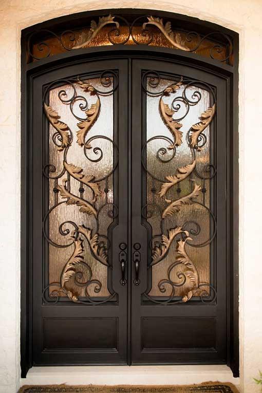 Custom Wrought Iron Doors by BalticIron Doors